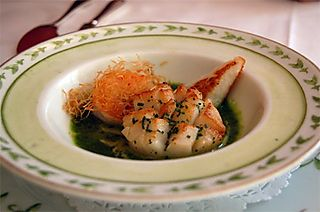 Phyllo Shrimp in Ocean Herbal Broth