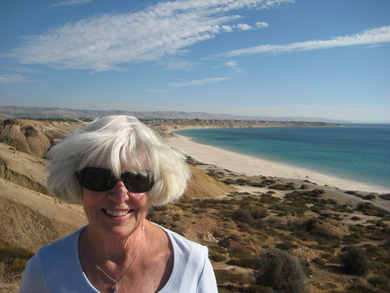 Mom above Port Willunga, OZ